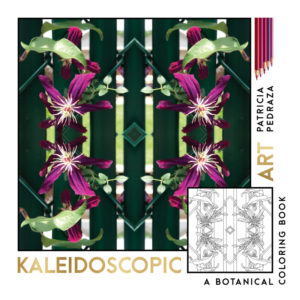 Kaleidoscopic Art - A Botanical Coloring Book