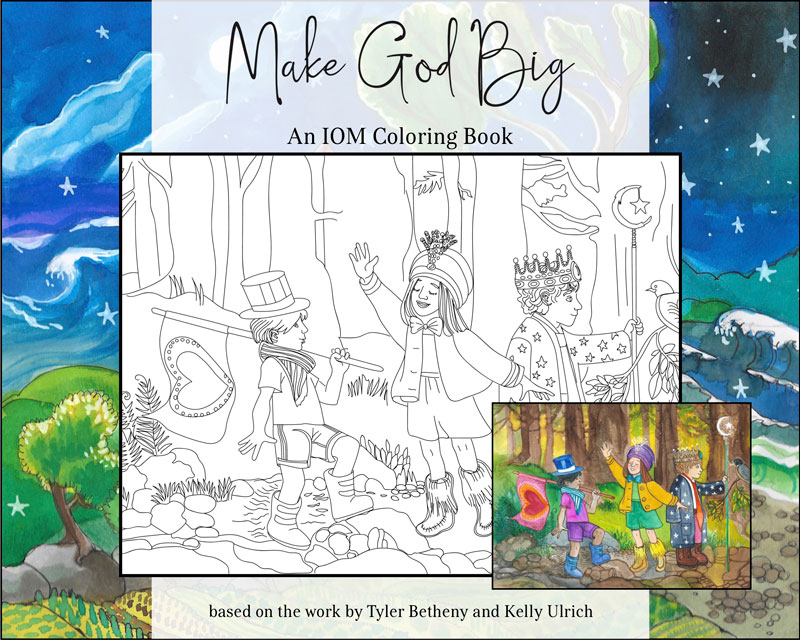 Make God Big Coloring Book - Cover