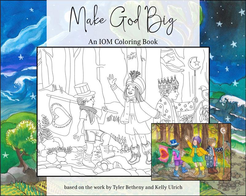 Make God Big Coloring Book - Cover