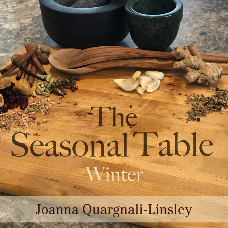The Sesaonal Table: Winter - Cover