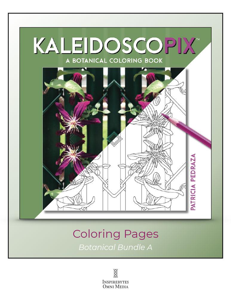 Kaleidoscopix: Botanicals — Coloring Book Bundle A