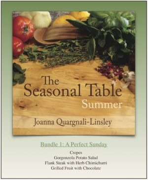 The Seasonal Table: Summer — Bundle 1: A Perfect Sunday